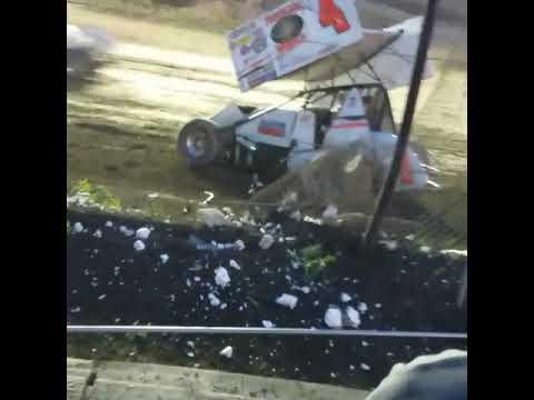Fremont Speedway crash 2018