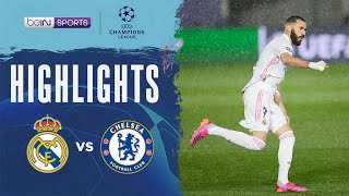 皇家馬德里 1:1 車路士   Champions League 20/21 Match Highlights HK