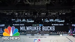 NBA To Resume Playoff Games Saturday After Walkout This Week | NBC Nightly News