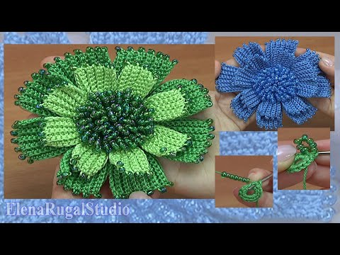 Crochet a Flower Tutorial 186