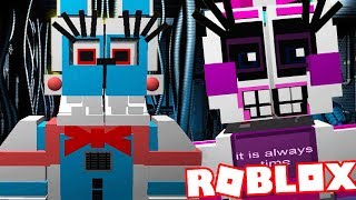 PLAY AS FUNTIME BONNIE AND FUNTIME CHICA! || Five Nights at Freddys Roblox (FNAF Level)