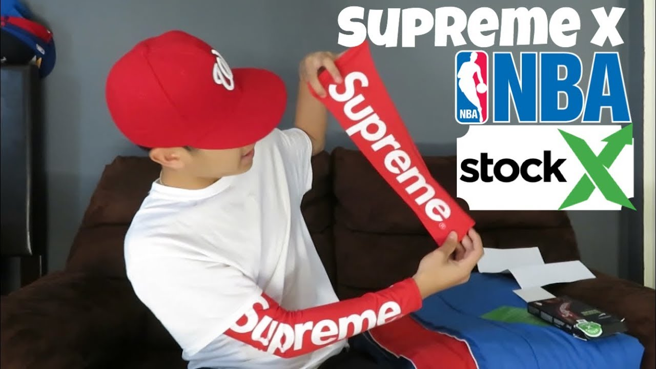 SUPREME SLEEVE REVIEW FROM STOCKX - YouTube