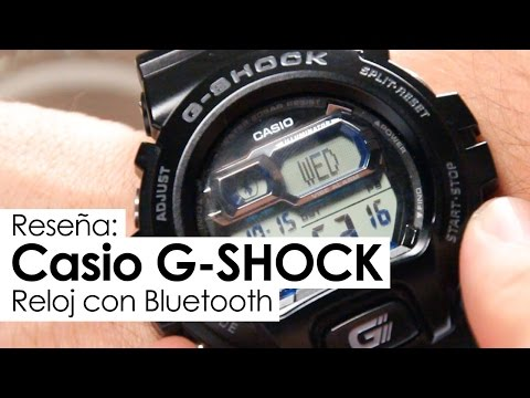 Reseña: Casio G-Shock con Bluetooth