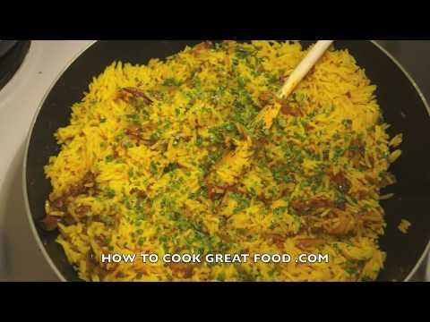 Kedgeree - British Indian Rice Fish - Haddock - Anglo Indian - Smoked Fish - Kippers - UK Breakfast