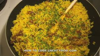 Kedgeree Recipe - British Indian Rice Smoked Fish
