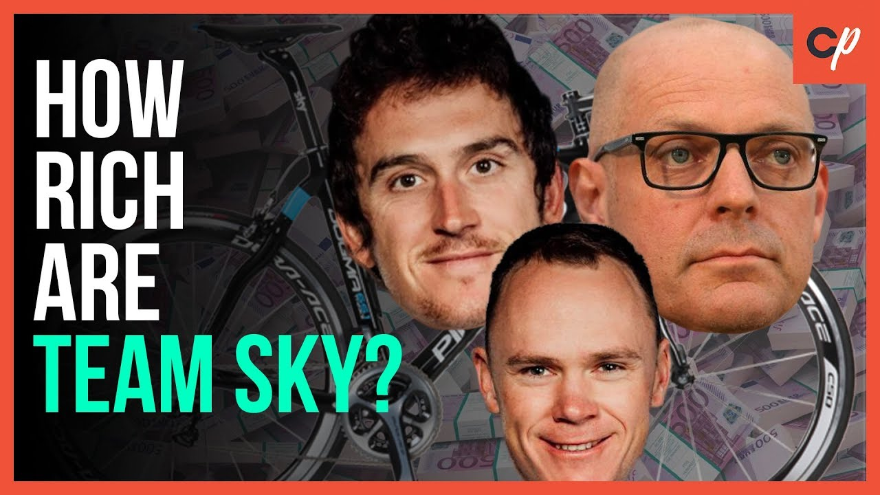 How Rich Are Team Sky Compared To Other Teams?