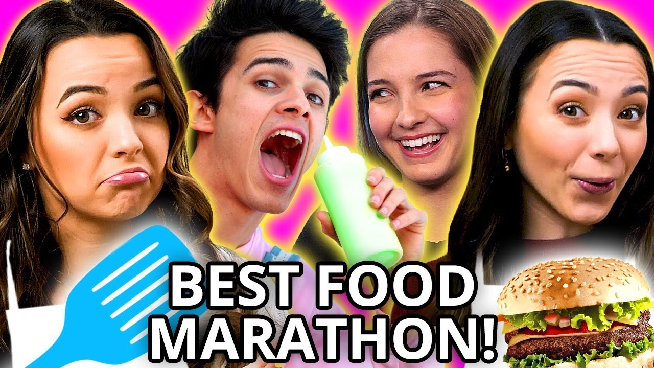 Craziest YOUTUBE FOOD CHALLENGES Compilation w/ Merrell Twins, Brent Rivera, Lexi Rivera, & MORE