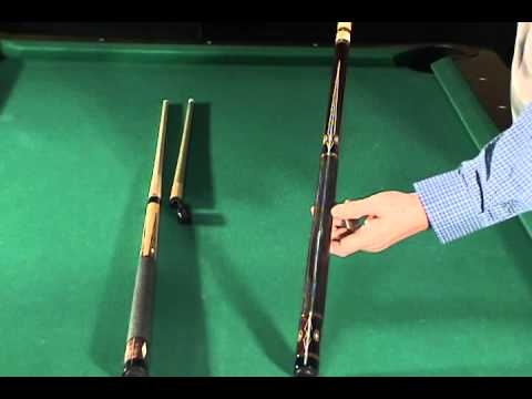 rare one of kind jerry olivier pool cues for sale