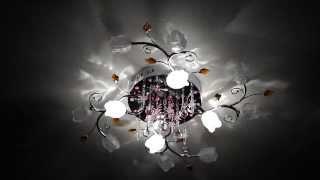 Светильник потолочный (люстра) галогенный со светодиодами Евросвет (Eurosvet) 4807/12(Крайне не рекомендую потолочный светильник Евросвет (Eurosvet) 4807/12, а также другие светильники Евросвет с цоко..., 2015-02-21T12:37:45.000Z)