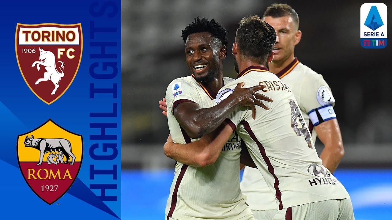 Торино  2-3  Рома видео