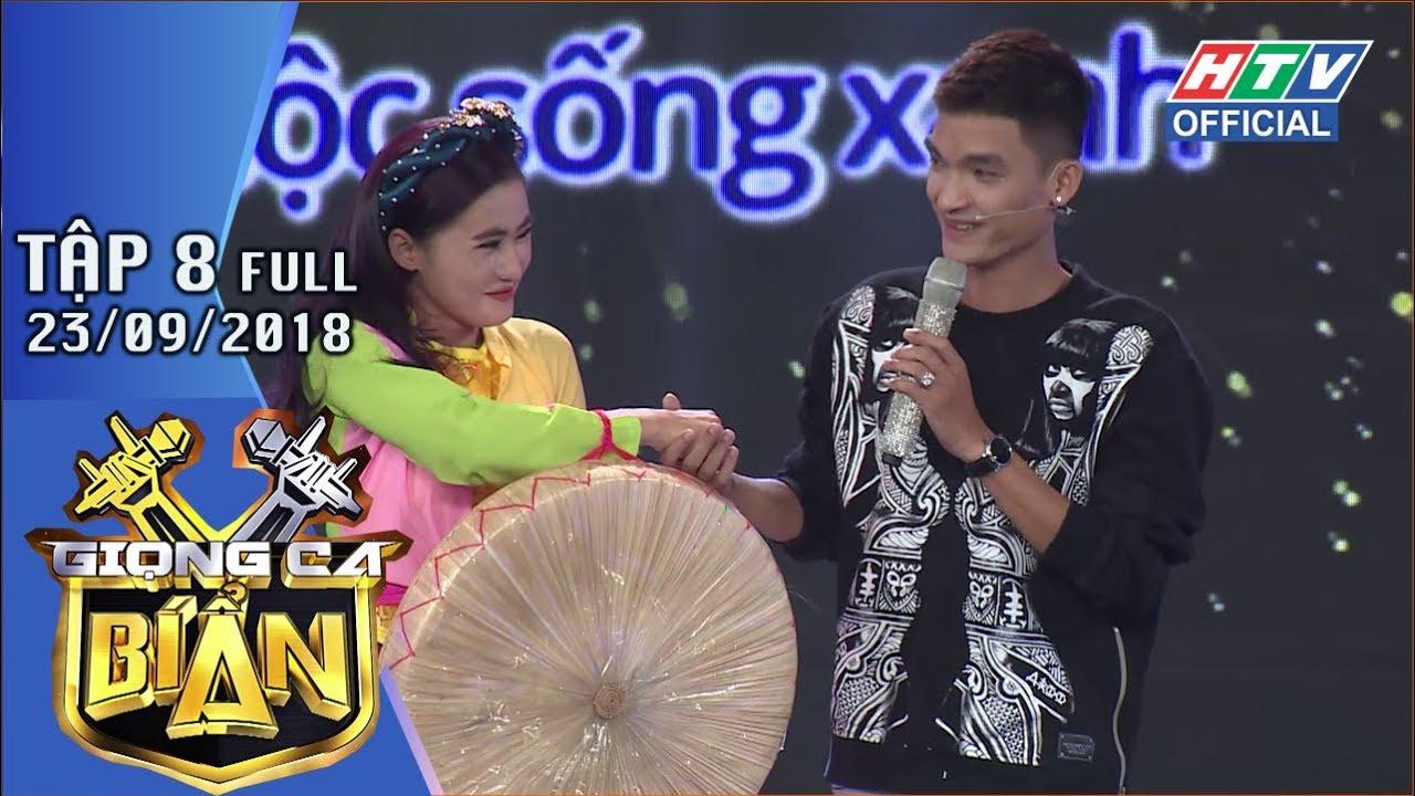 image HTV GIỌNG CA BÍ ẨN | Mạc Văn Khoa ngượng ngùng nắm tay cô gái quan họ | GCBA #8 FULL | 23/9/2018