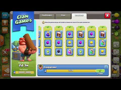Book of Everything Clash Of Clans 75000 challenge points