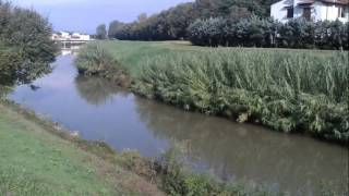 Biking in Florence Italy and countryside in October