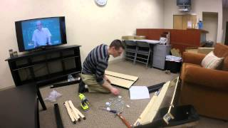 Building Ikea Bjursta Extendable Table Time Lapse Made With Gopro
