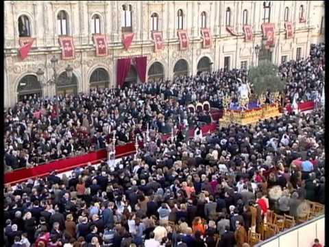 Santo Entierro Magno Semana Santa de Sevilla 2004 Parte 1