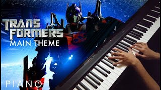 Transformers - Main Theme (Piano Cover) - Trilogy