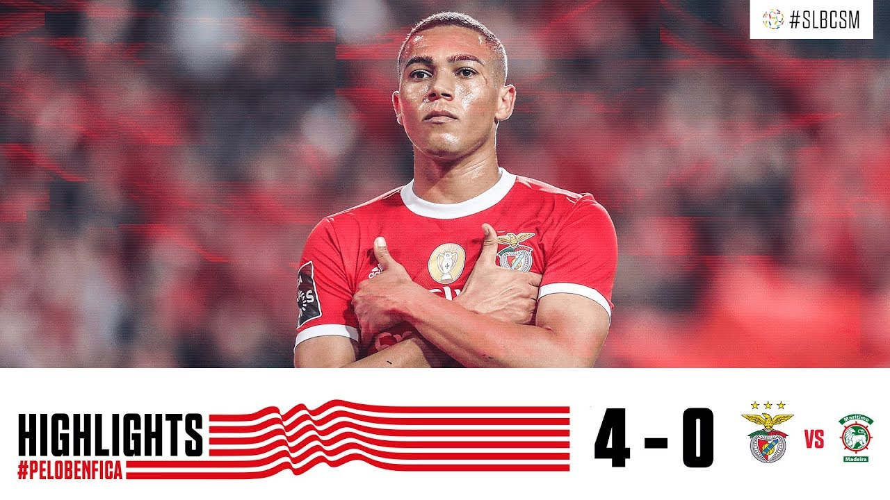 Highlights Sl Benfica 4 0 Cs Marítimo Youtube