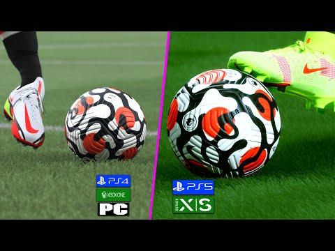 Сравнение графики и геймплея в FIFA 22 на Xbox One и Xbox Series X | S