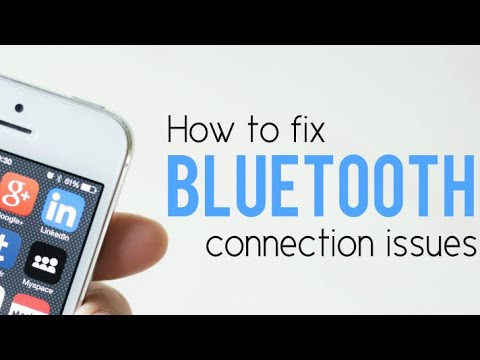 How to fix bluetooth problems in iphone 6/6s