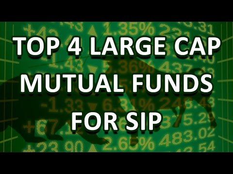 Top 4 Large Cap Mutual Funds For SIP
