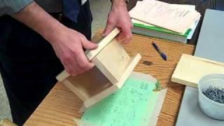 Building A Bluebird Box.MP4