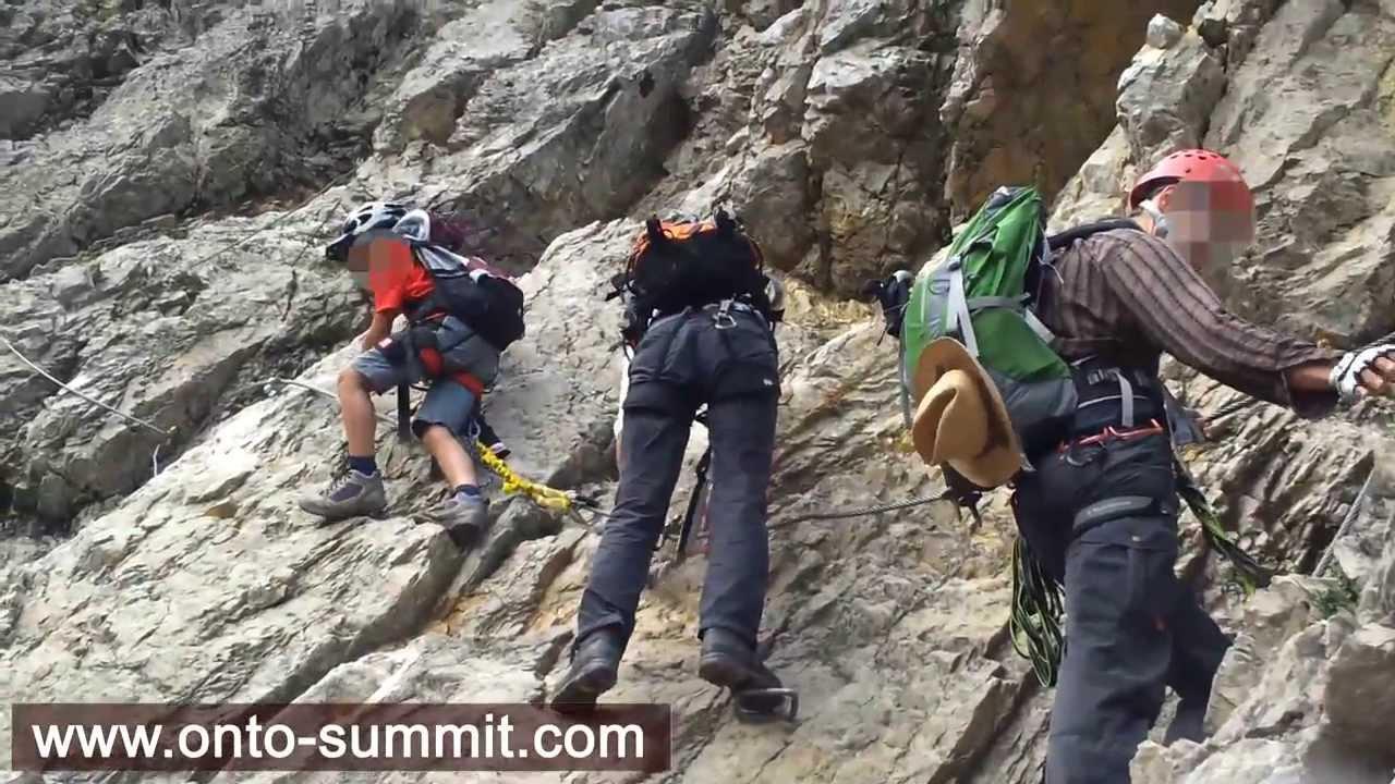 Klettersteig Unfall : Fotogalerie tourfotos fotos zur klettersteig tour drachenwand