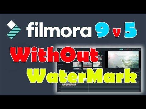 """CARA MENGHILANGKAN WATERMARK """"UP TO FILMORA 9"""" - WONDERSHARE FILMORA"""