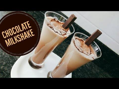Chocolate Milk Shake Recipe |  Chocolate Shake Without Using Ice Cream L Chocolate Drink Lmilkshakes