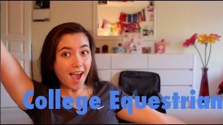 I'm a College Equestrian!