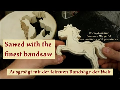 Sawed With The Finest Bandsaw  Part I, By Arnold Schoger