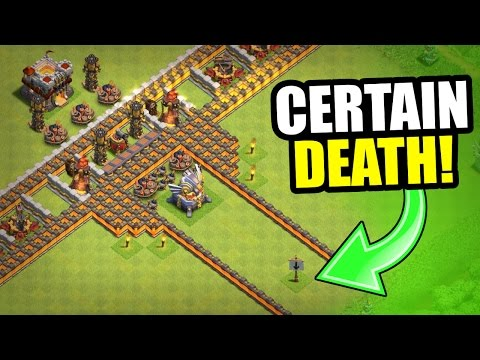 "Thumbnail: MISSION IMPOSSIBLE ""GREAT WALL"" TROLL BASE! - Clash Of Clans"