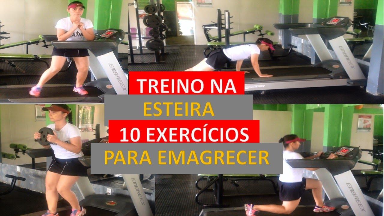treino em esteira para perder peso