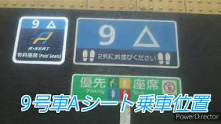 223系新快速Aシート乗車記録 高槻~新大阪 2019年4月6日
