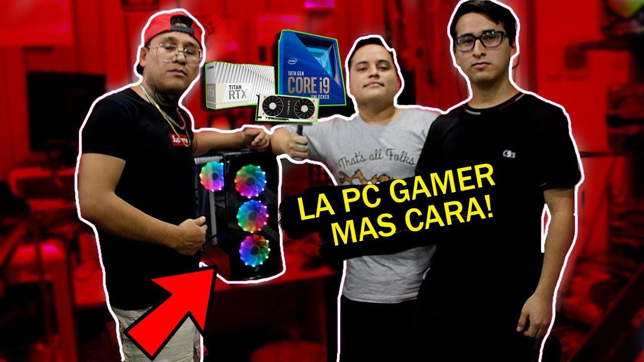 ARMANDO LA PC GAMER MAS POTENTE De CHIMBOTE PERU 2021| Core i9 Nvidia Titán Rtx TH10 | Brush Vasquez