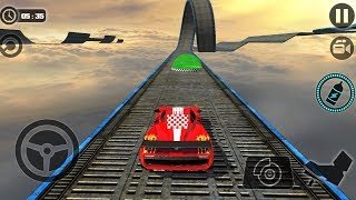 Impossible Stunt Car Tracks 3D New Vehicle Unlocked - Android GamePlay 2018 - Cars For Kids Driving