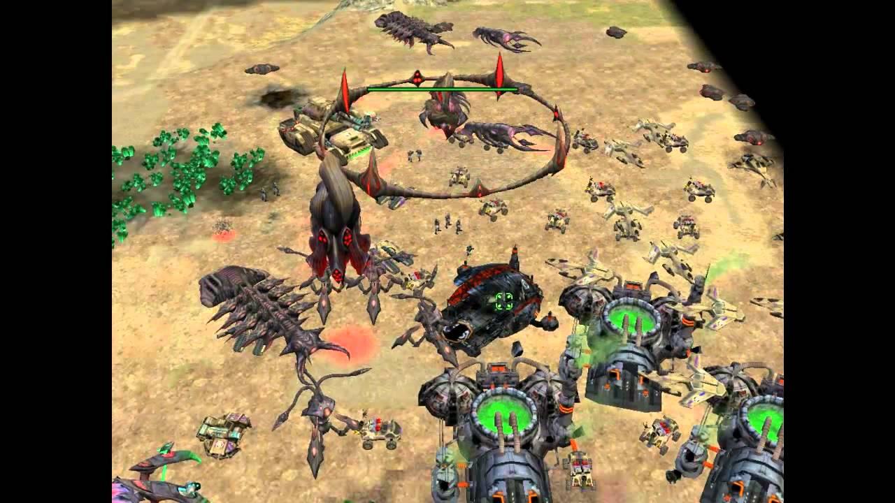 map escarmouche command and conquer 3