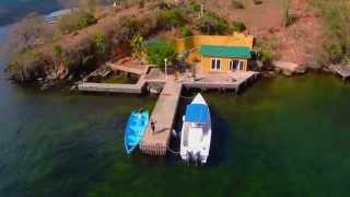 Aerial View Gasparee Island, Trinidad, West Indies