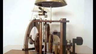 Wooden Clock - Wee Willie