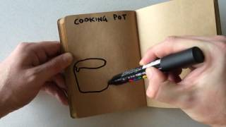 How to Draw a Cooking Pot