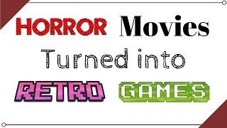 Jordo's Retro: Horror movie... Retro games!