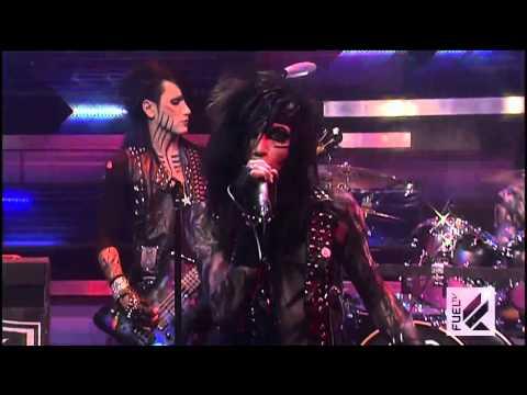 Black Veil Brides - Love Isn't Always Fair - Live on The Daily Habit (Fuel TV)