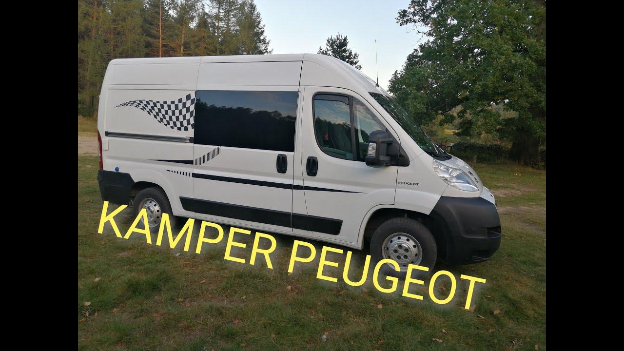 Camper Peugeot Boxer L8H8
