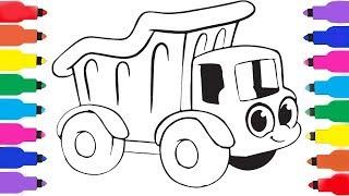 Learn Draw KidsTV -- My Magic #DumpTruck -- Vehicles Compilation Maszyny Budowlane