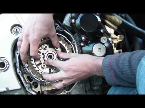 DIY - How to upgrade a Suzuki Hayabusa clutch