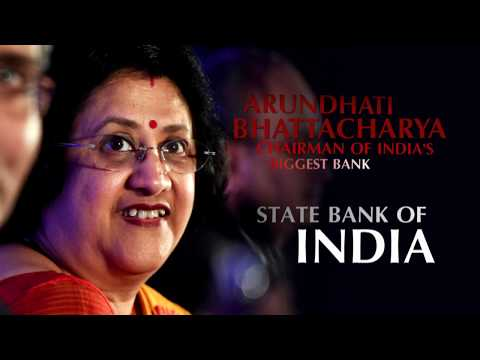 Smt. Arundhati Bhattacharya conversing with Channel NewsAsia about FTSE SBI Bond Index series