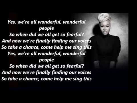 Read All About It - Emeli Sande