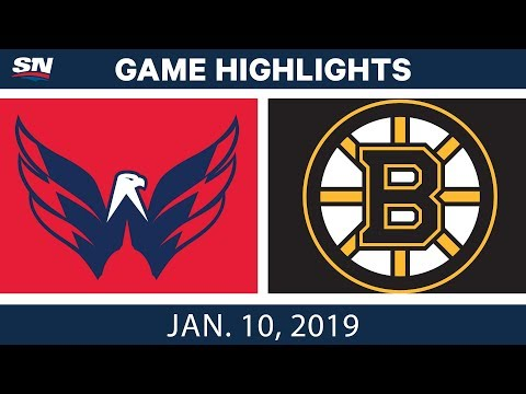 NHL Highlights | Capitals vs. Bruins - Jan. 10, 2019