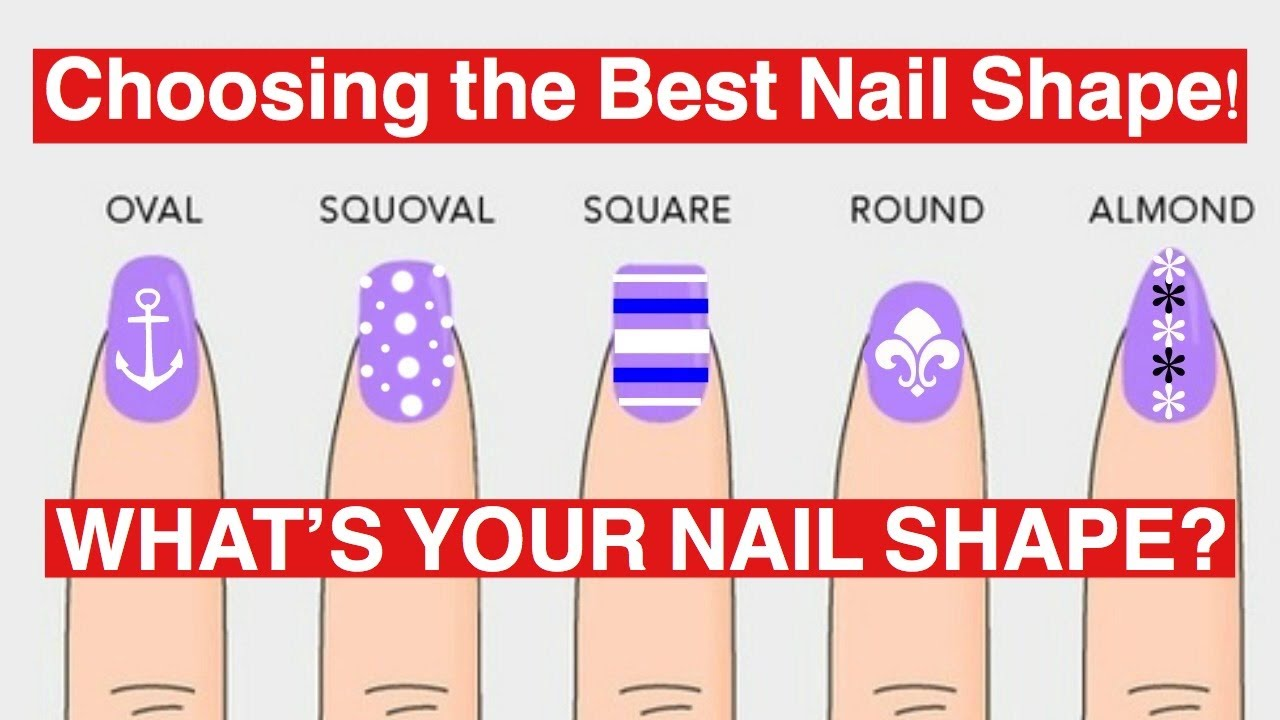 DIFFERENT NAIL SHAPES
