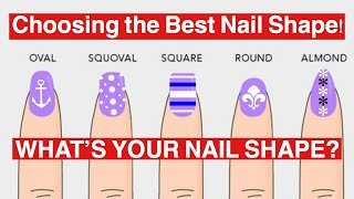 DIFFERENT NAIL SHAPES | BEAUTY TIPS
