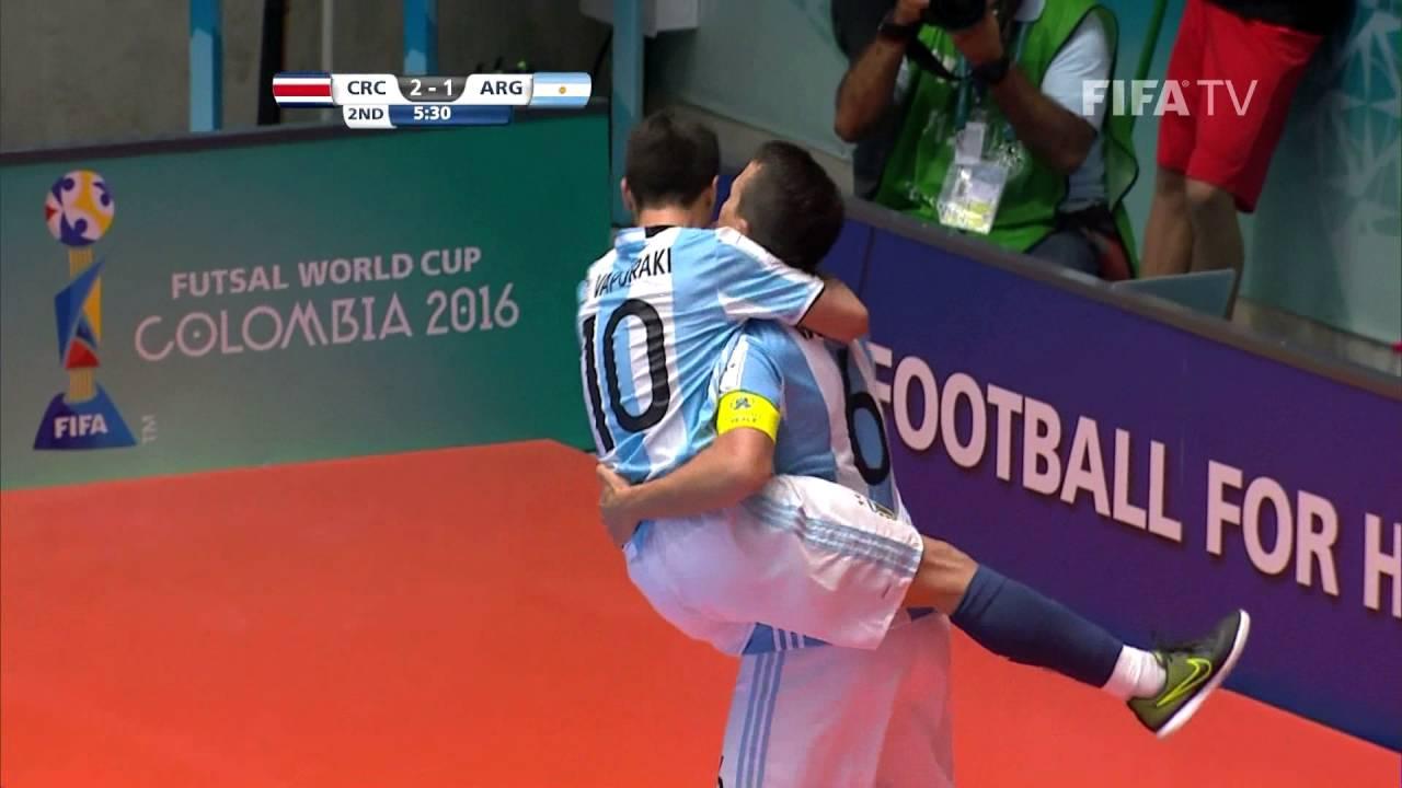 Video: Futsal Costa Rica vs Futsal Argentina
